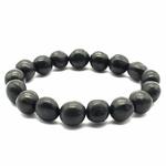 Bracelet pierres roulées en Shungite Extra