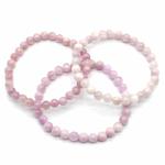 Bracelet-Kunzite-rose-boules-6mm-2