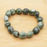 Bracelet-pierres-roulées-Séraphinite-EXTRA-2