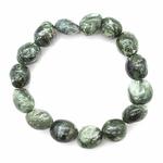Bracelet-pierres-roulées-Séraphinite-EXTRA