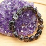 Bracelet-pierres-roulées-Obsidienne-larme-apache-2
