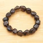 Bracelet-pierres-roulées-Obsidienne-larme-apache-3