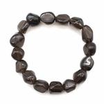 Bracelet-pierres-roulées-Obsidienne-larme-apache-1