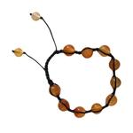 Bracelet Shamballa cornaline