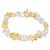 Bracelet-baroque-duo-Citrine-et-Cristal-de-roche