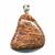 Pendentif-jaspe-fossile-argent