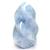 Pièce-unique-Calcite-bleue-forme-flamme-1,42Kg