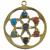 Pendentif-mandala-7-chakras-doré
