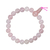 Mala-tibétain-21-graines-Power-Bracelet-Quartz-Rose-boule-8-mm