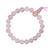 Mala-tibétain-21-graines-Power-Bracelet-Quartz-Rose-boule-8-mm