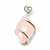 Pendentif-Quartz-rose-strass-ovale