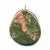 Unakite-pendentif-pierre-plate-1