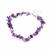 Bracelet-de-cheville-Améthyste-baroque-avec-chainette-réglable-23cm