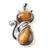 Pendentif-Oeil-de-tigre-en-chat-et-design-acier-1