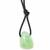 Pendentif-calcite-verte-avec-cordon