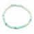 Bracelet-Amazonite-boules-4mm