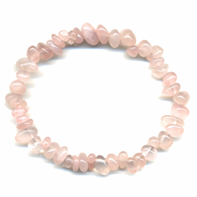 recharger bracelet quartz rose