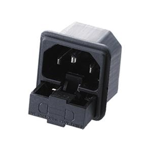 connecteur C14 à éclipser fusible