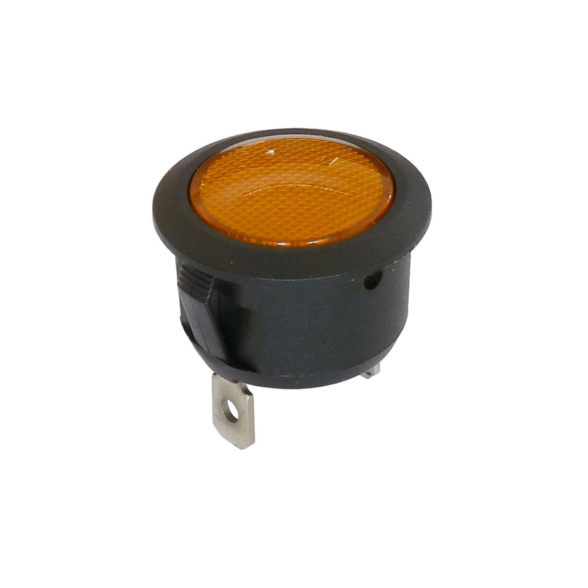 Voyant 20mm orange de signalisation 220V - 250V