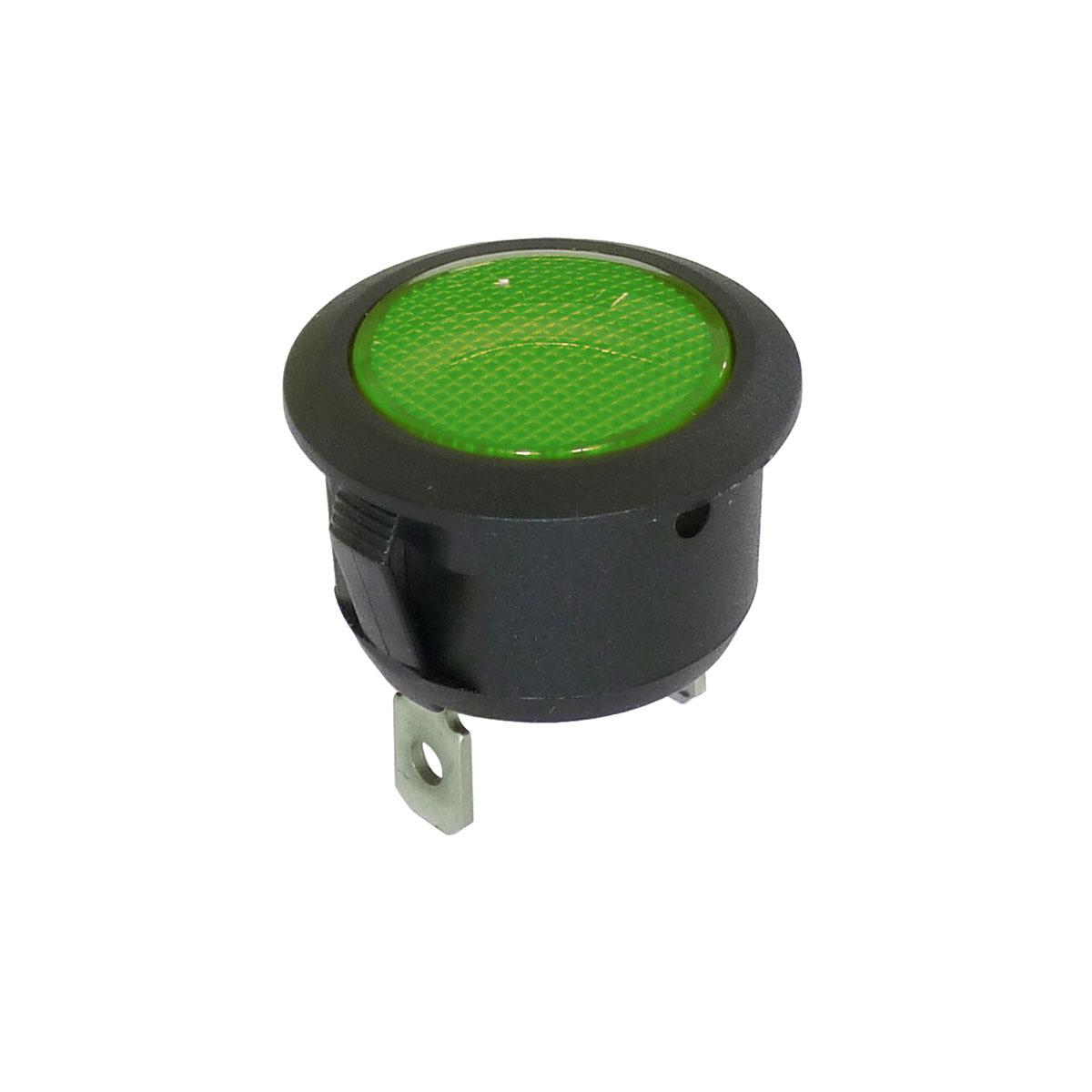Voyant 20mm vert de signalisation 220V - 250V