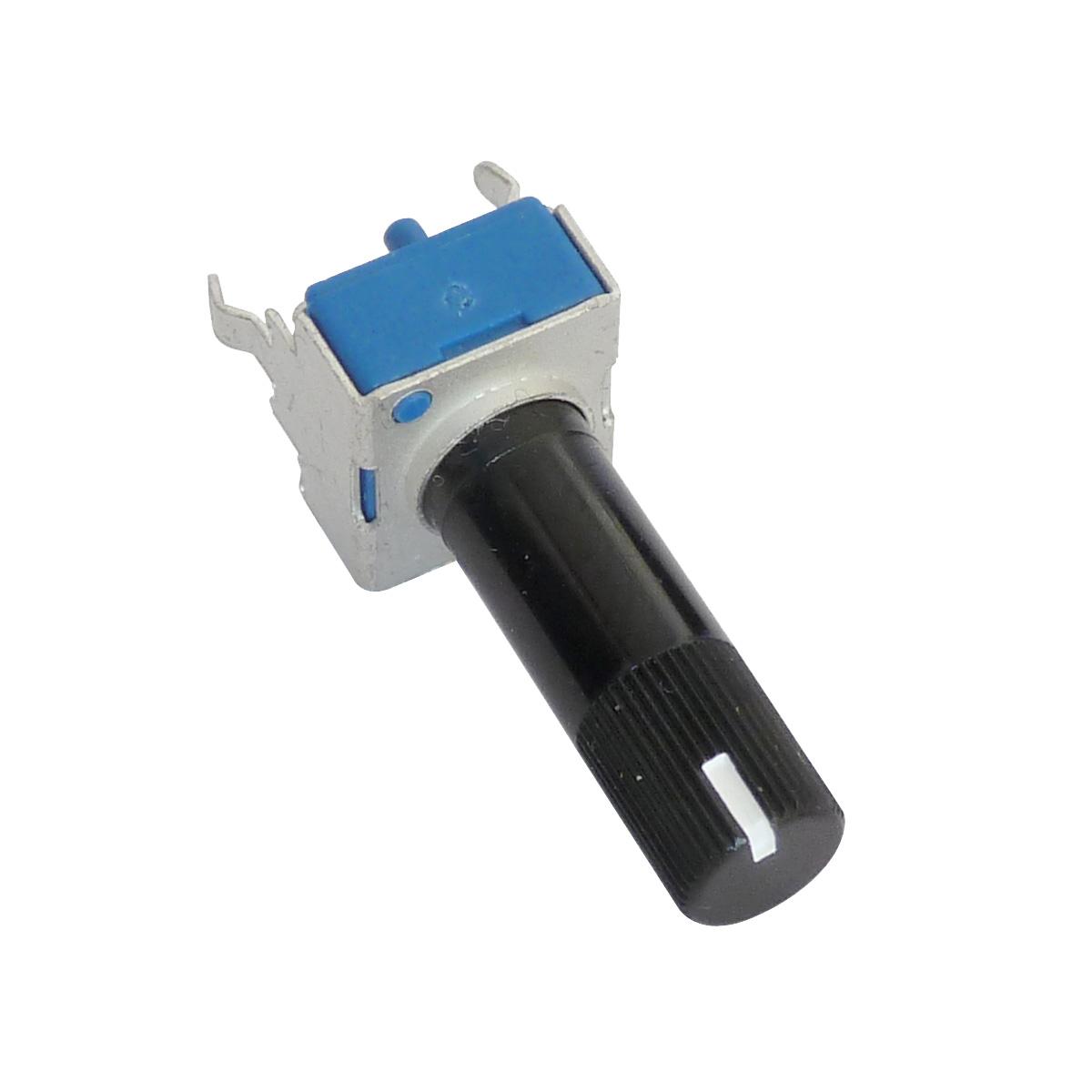 Potentiomètre rotatif 9mm logarithmique 10K ohms 0.05W