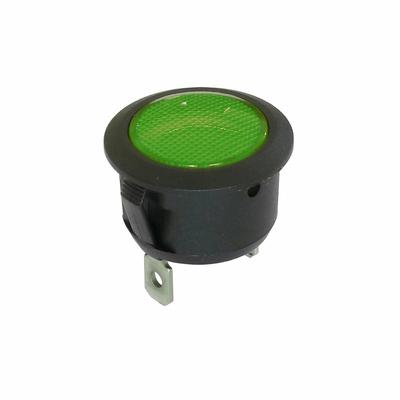 voyant vert 12V 24V 20mm