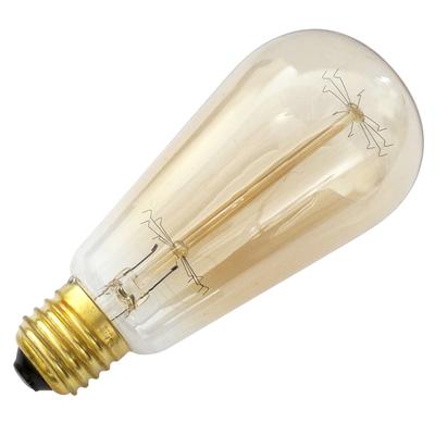ampoule vintage e27 60w douille ampoule vintage eurolec. Black Bedroom Furniture Sets. Home Design Ideas