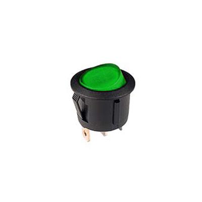 interrupteur lumineux vert R13-112