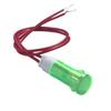 Voyant lumineux néon vert 220V 10mm