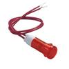 Voyant lumineux néon rouge 220V 10mm