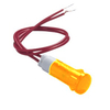Voyant lumineux néon orange 220V 10mm