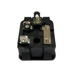 Connecteur IEC C14 porte-fusible 4.8 verso