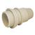 douille E14 bakélite blanche demi-filetée14-SD04-2