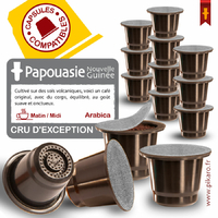 CAPSULES CAFE NVELLE GUINEE/ PAPOUASIE