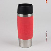 Mug travel isotherme rouge