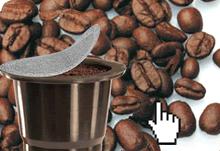 capsules compatibles Nespresso, café Pikaro