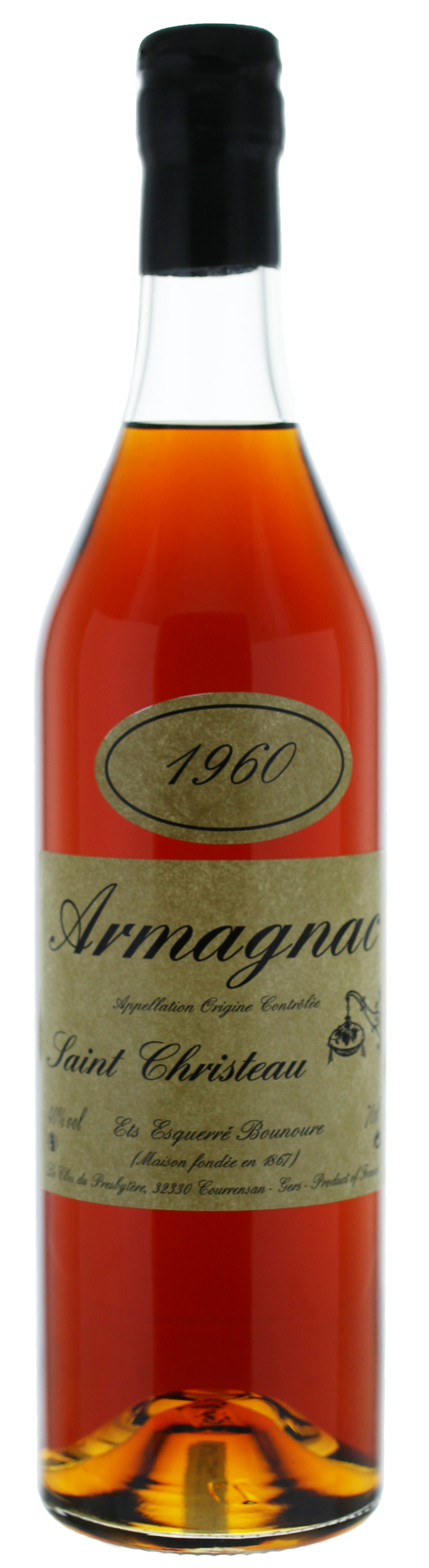 ARMAGNAC - 1960 - Saint-Christeau - 40° - G. Miclo