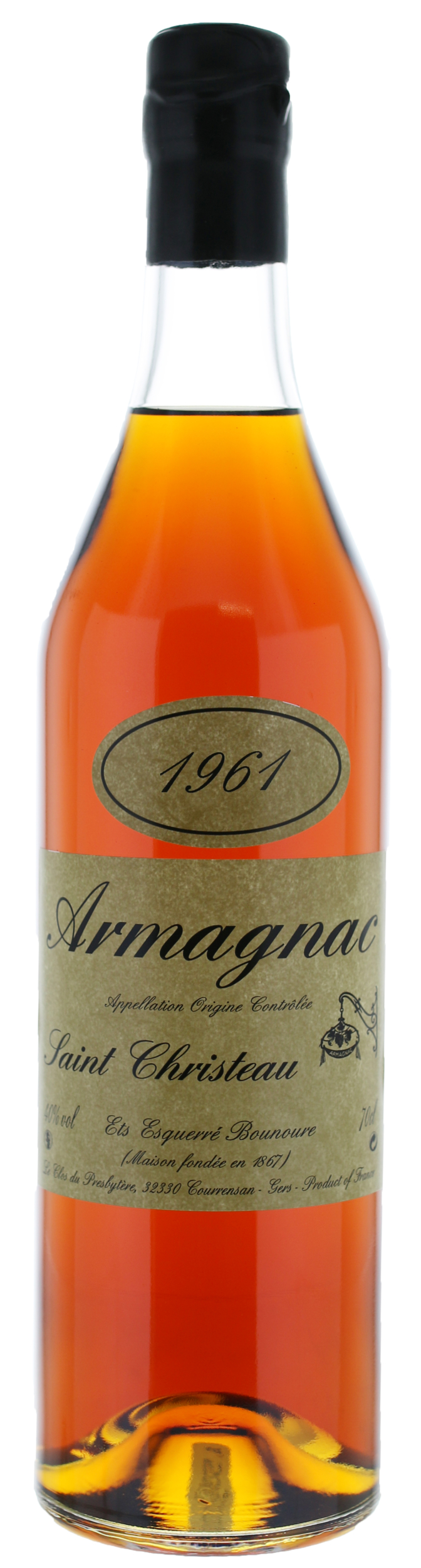 ARMAGNAC - 1961 -Saint-Christeau - 40° - G. Miclo