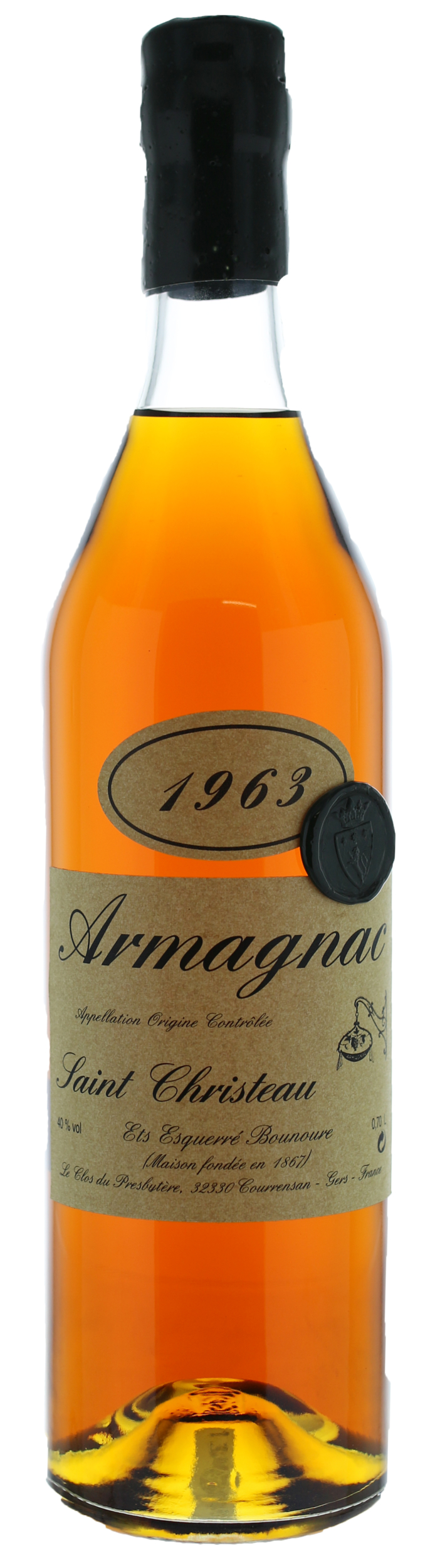 ARMAGNAC - 1963 - Saint-Christeau - 40° - G. Miclo