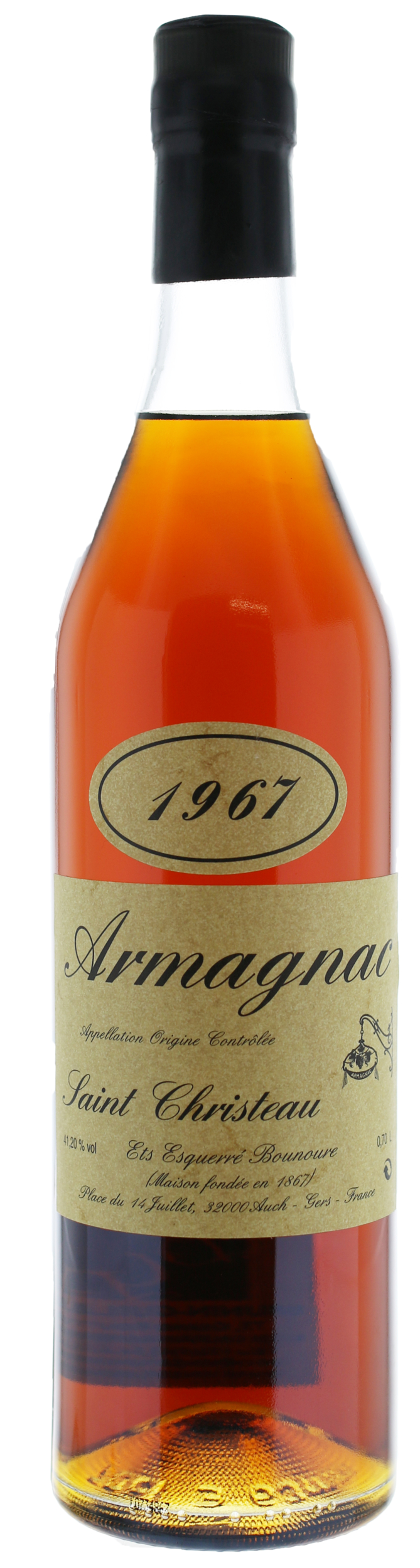 ARMAGNAC 1967 Saint-Christeau - 41° - G. Miclo