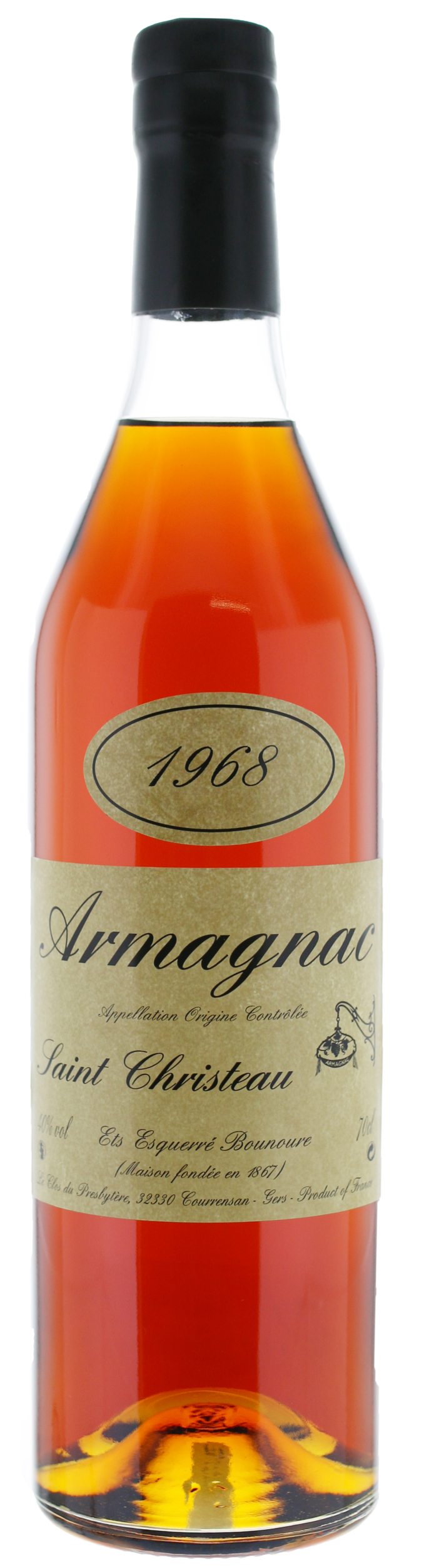 ARMAGNAC - 1968 - Saint-Christeau - 40° - G. Miclo