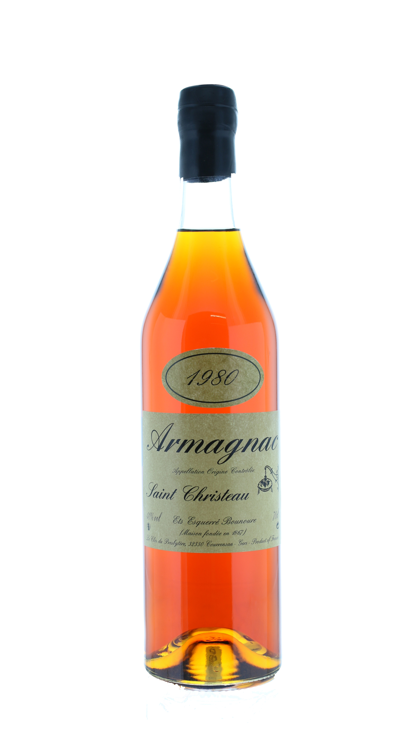 ARMAGNAC 1980 Saint-Christeau - 40° - G. Miclo