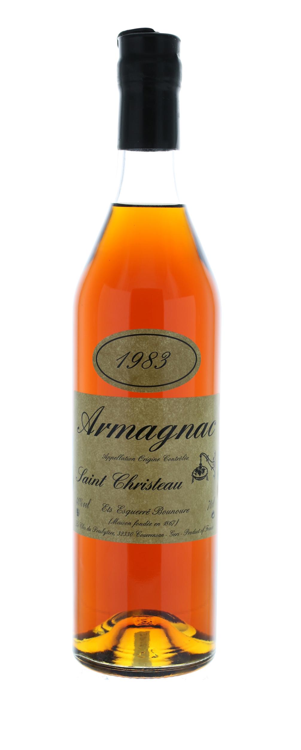 ARMAGNAC 1983 Saint-Christeau - 40° - G. Miclo