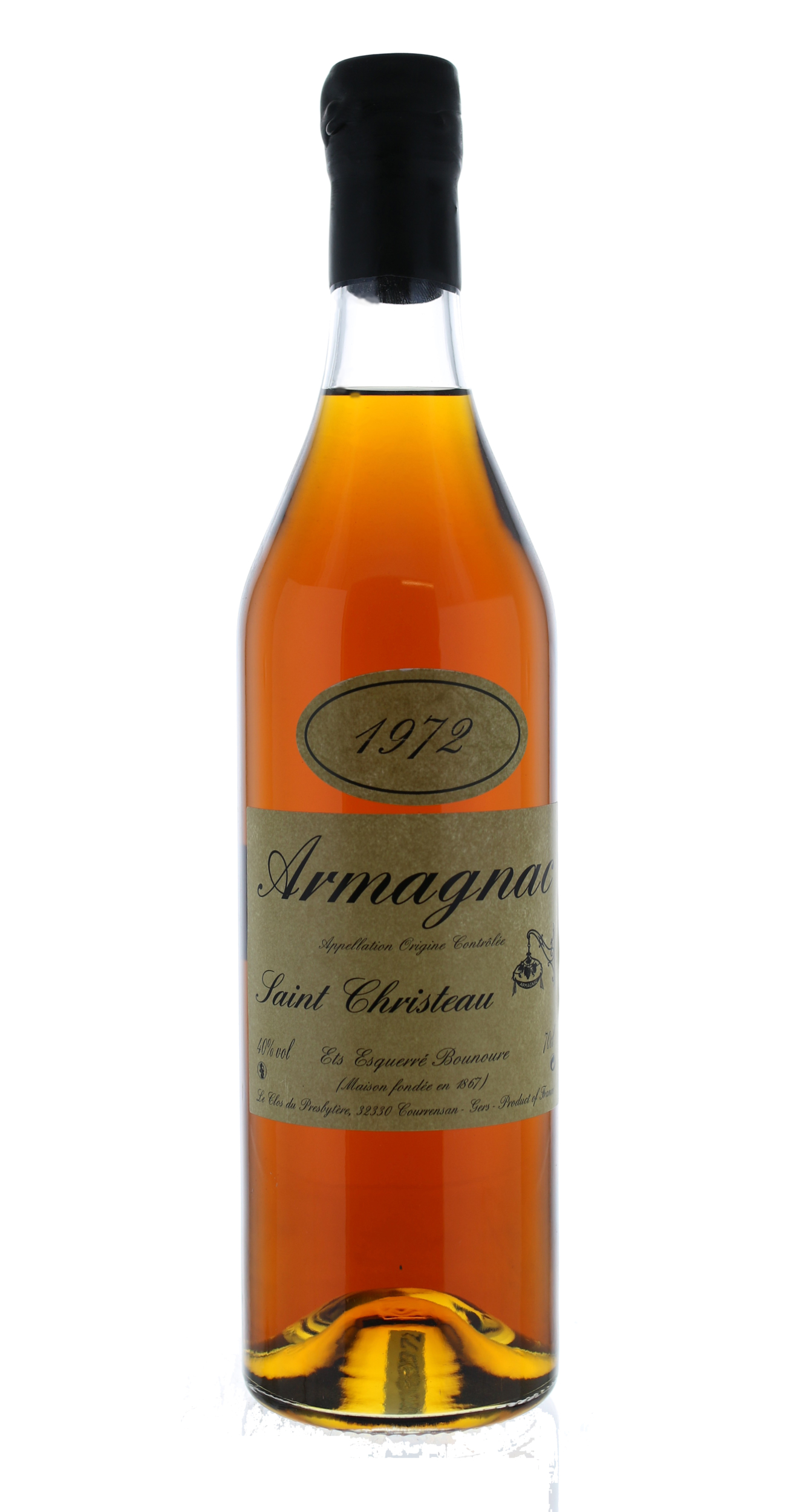 ARMAGNAC 1986 Saint-Christeau - 40° - G. Miclo