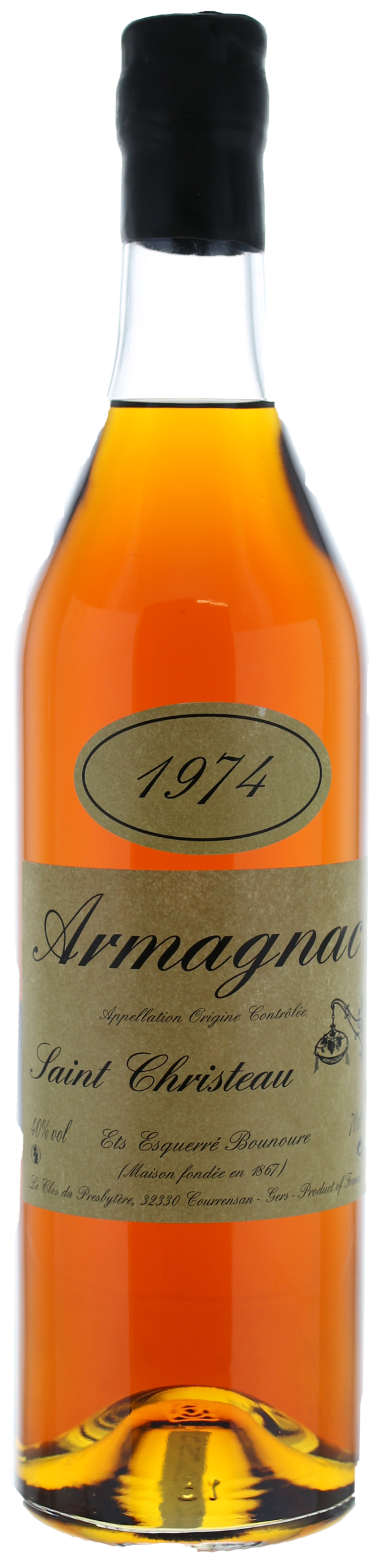 ARMAGNAC - 1974 - Saint-Christeau - 40° - G. Miclo
