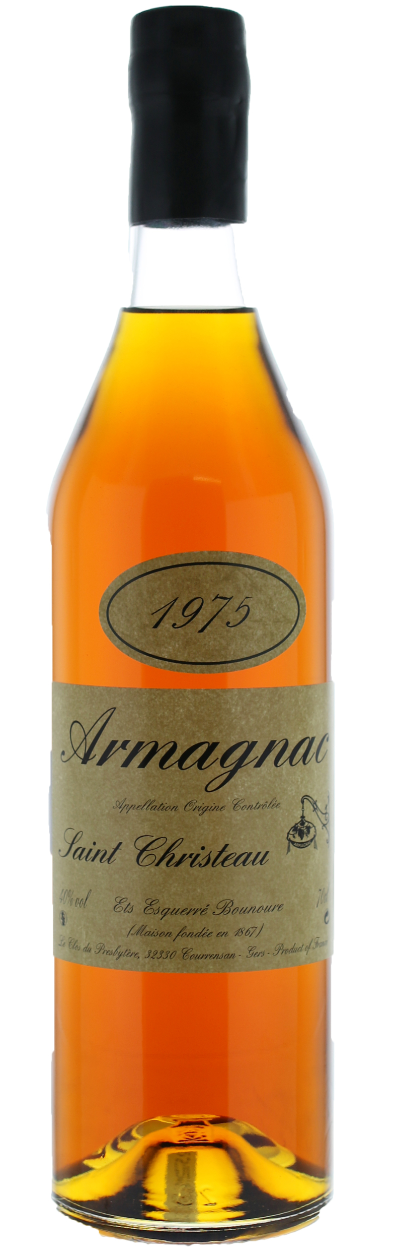ARMAGNAC - 1975 - Saint-Christeau - 41° - G. Miclo