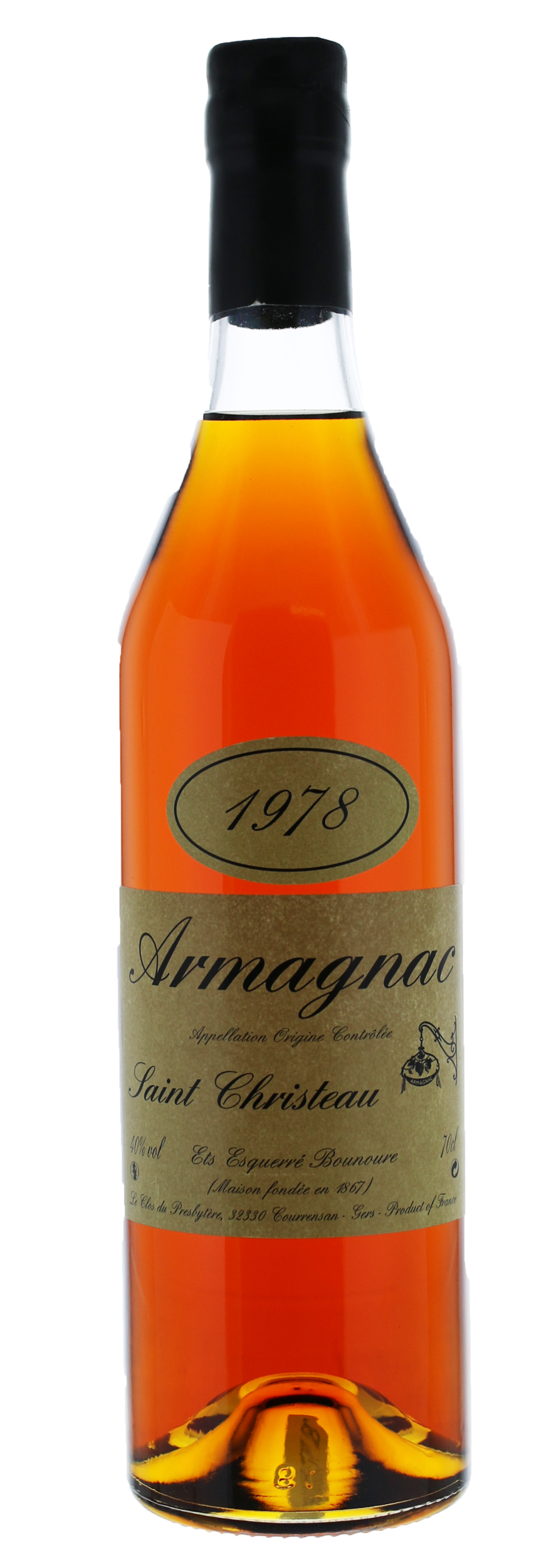 ARMAGNAC - 1978 - Saint-Christeau - 40° - G. Miclo