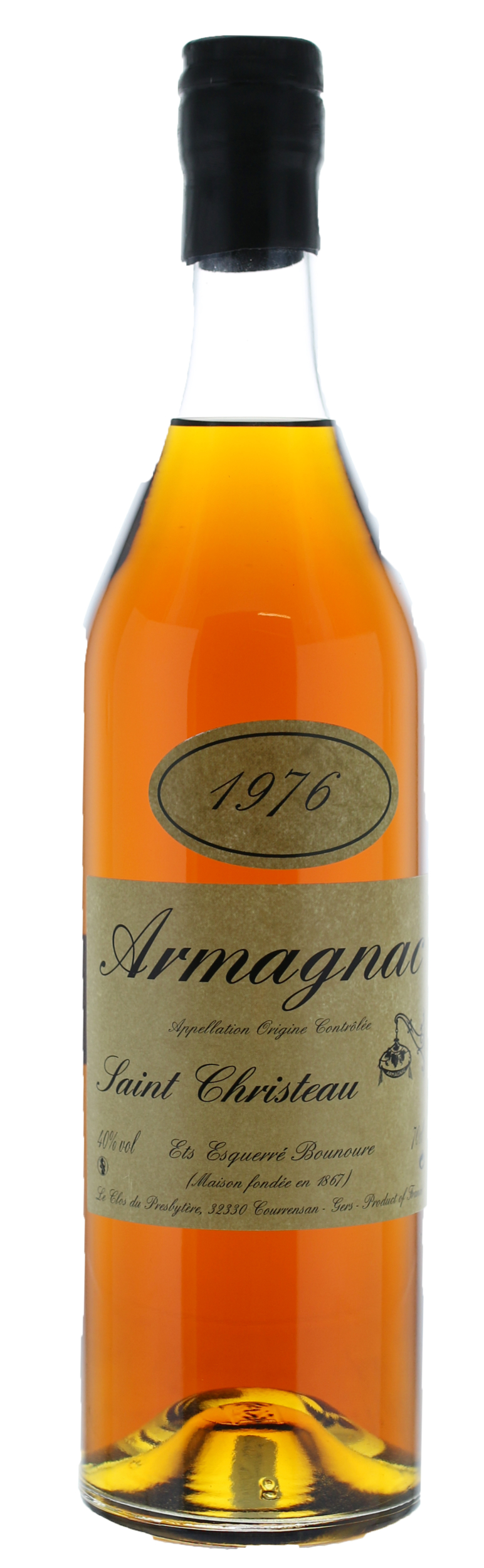 ARMAGNAC - 1976 - Saint-Christeau - 41° - G. Miclo