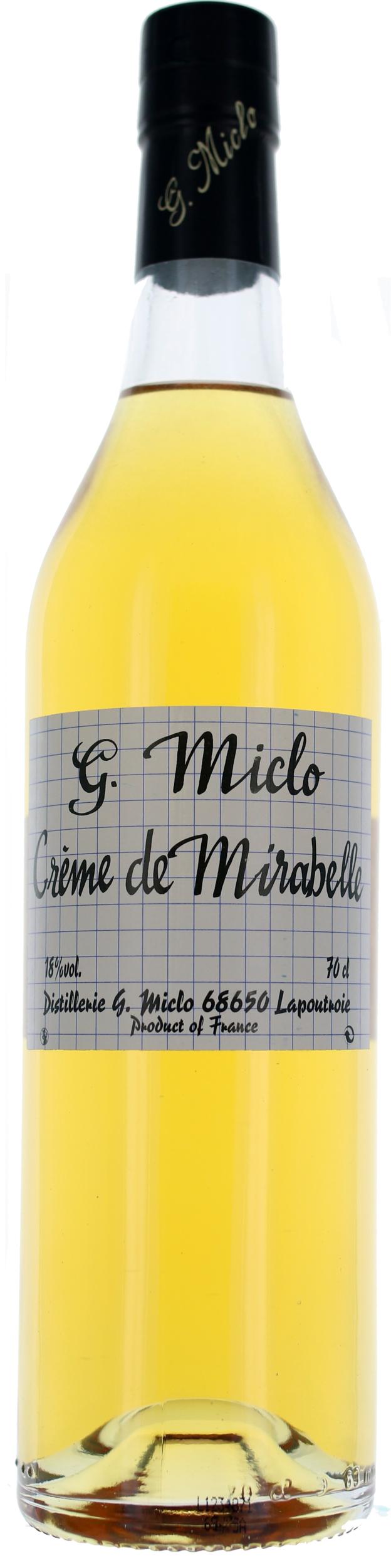 CREME DE BERGAMOTTE - 18° - G. Miclo
