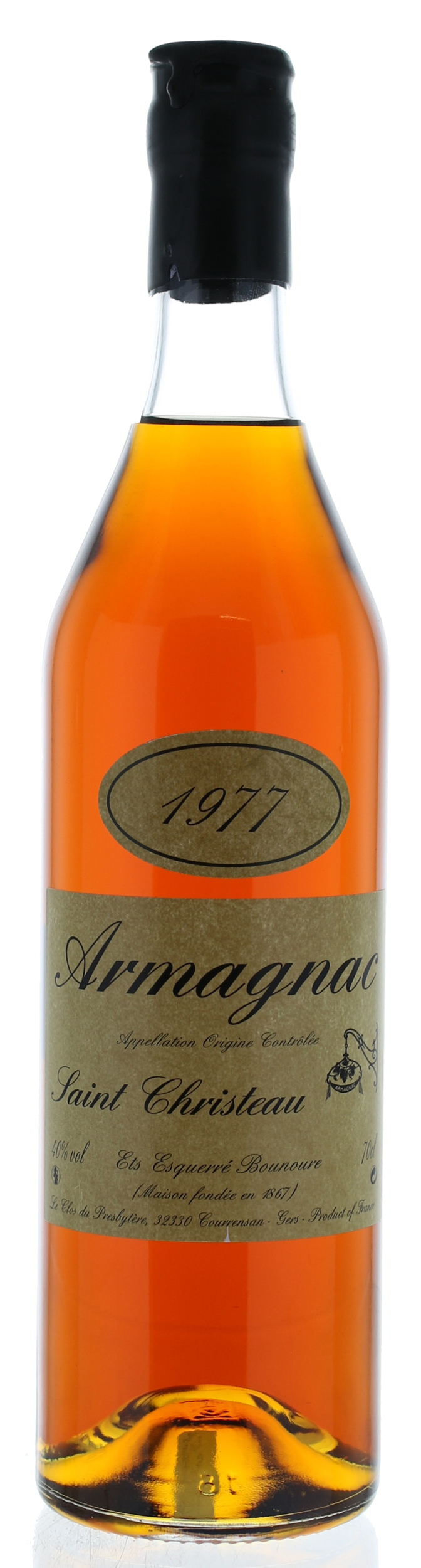 ARMAGNAC - 1977 - Saint-Christeau - 41° - G. Miclo